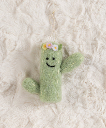 Cactus Ornament, Multi , Cactus Ornament, Multi
