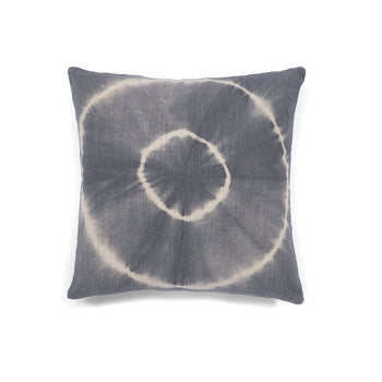 Aria Medallion Tie Dye Pillow, Grey, Aria Medallion Tie Dye Pillow, Grey