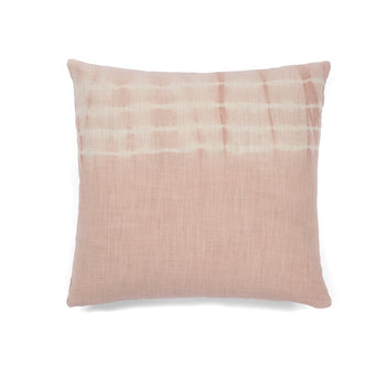 Aria Dipped Tie Dye Pillow, Blush, Aria Dipped Tie Dye Pillow, Blush
