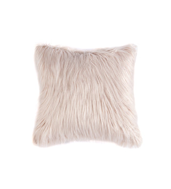 Shag Pillow, Blush