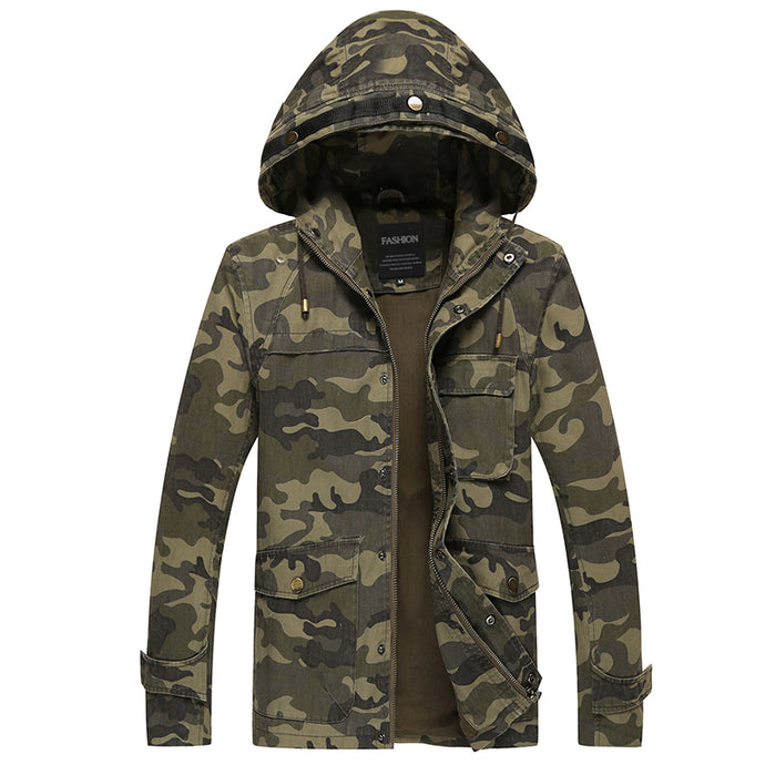Tactical Camouflage Jackets - Military Style
