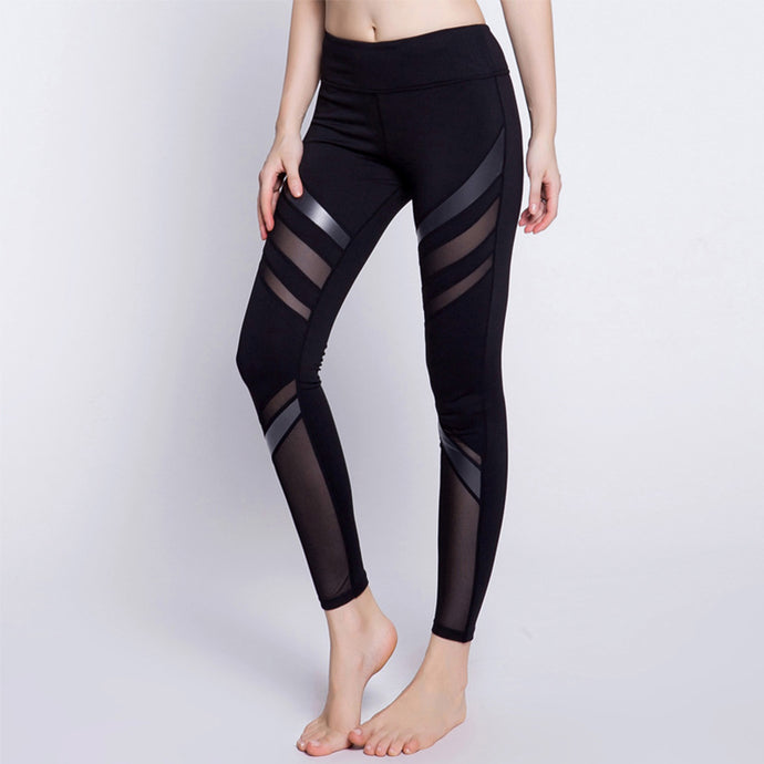 Sex High Waist Leggings - Stretched Spandex  Pants
