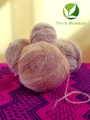 100% Pure Alpaca Yarns From Terra Blossom