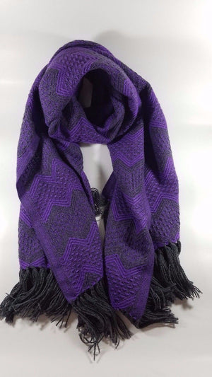 Luxurious Alpaca Scarves In Traditional Peruvian Patterns - Clothing, Shoes & Accessories:Women's Accessories:Scarves & Wraps - Terra Blossom