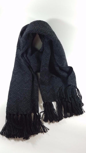 Alpaca Scarves With Diamond Pattern - Clothing, Shoes & Accessories:Women's Accessories:Scarves & Wraps - Terra Blossom