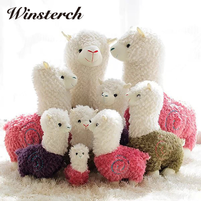 Cute Alpaca Soft Plush Stuffed Animal Toys -  - Terra Blossom