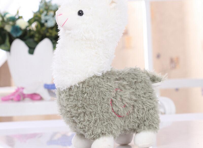 Soft Cartoon Alpaca Plush Toy -  - Terra Blossom