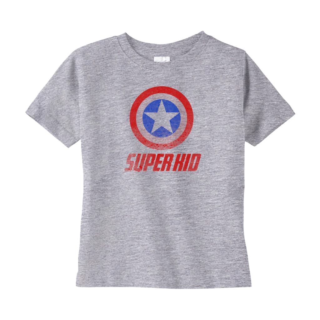 1327123901 Super Kid -Shirts (Toddler Sizes) Graphic T-Shirt Tee BOXELS