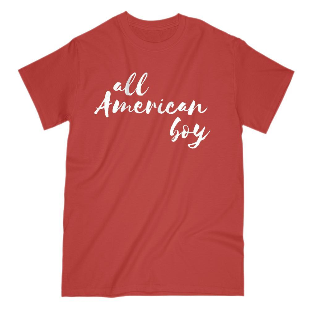 All American boy Graphic Patriotic T-Shirt