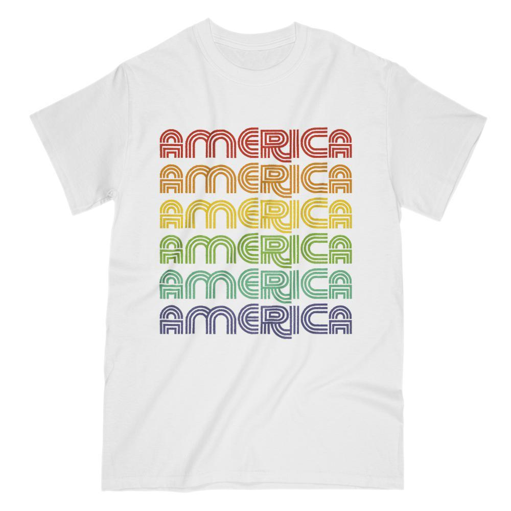 America 1970 V2 Retro Patriotic T-Shirt