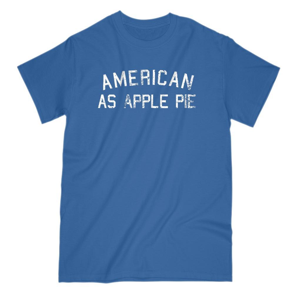 American as Apple Pie Graphic Grunge Patriotic T-Shirt Graphic T-Shirt Tee BOXELS