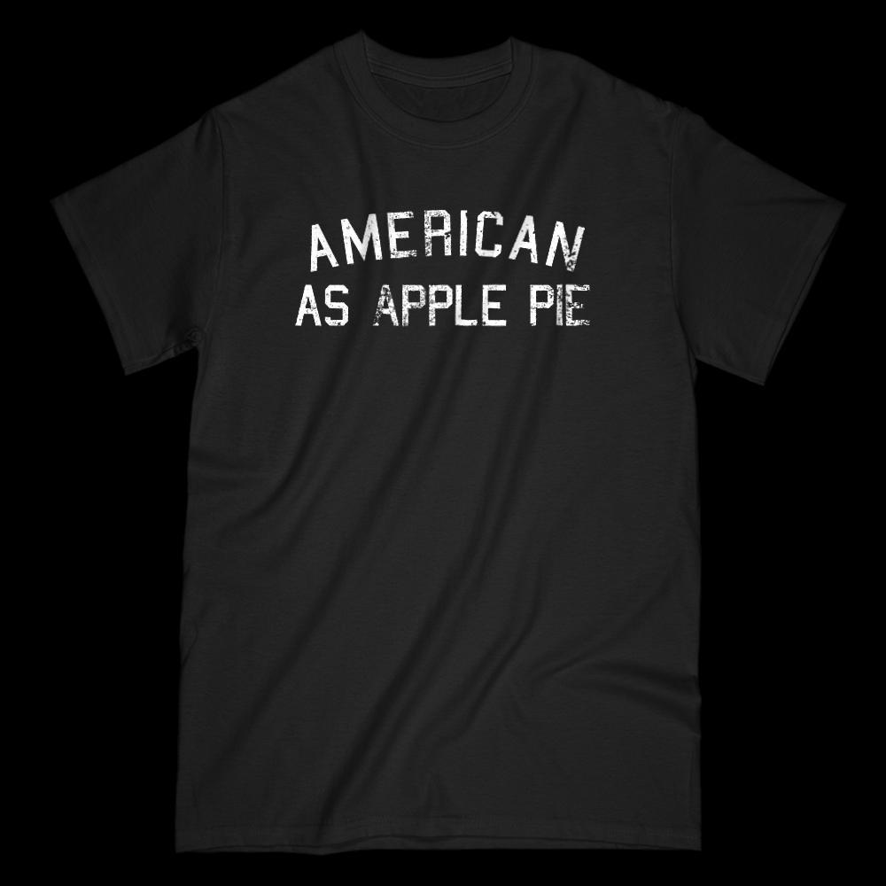 American as Apple Pie Graphic Grunge Patriotic T-Shirt