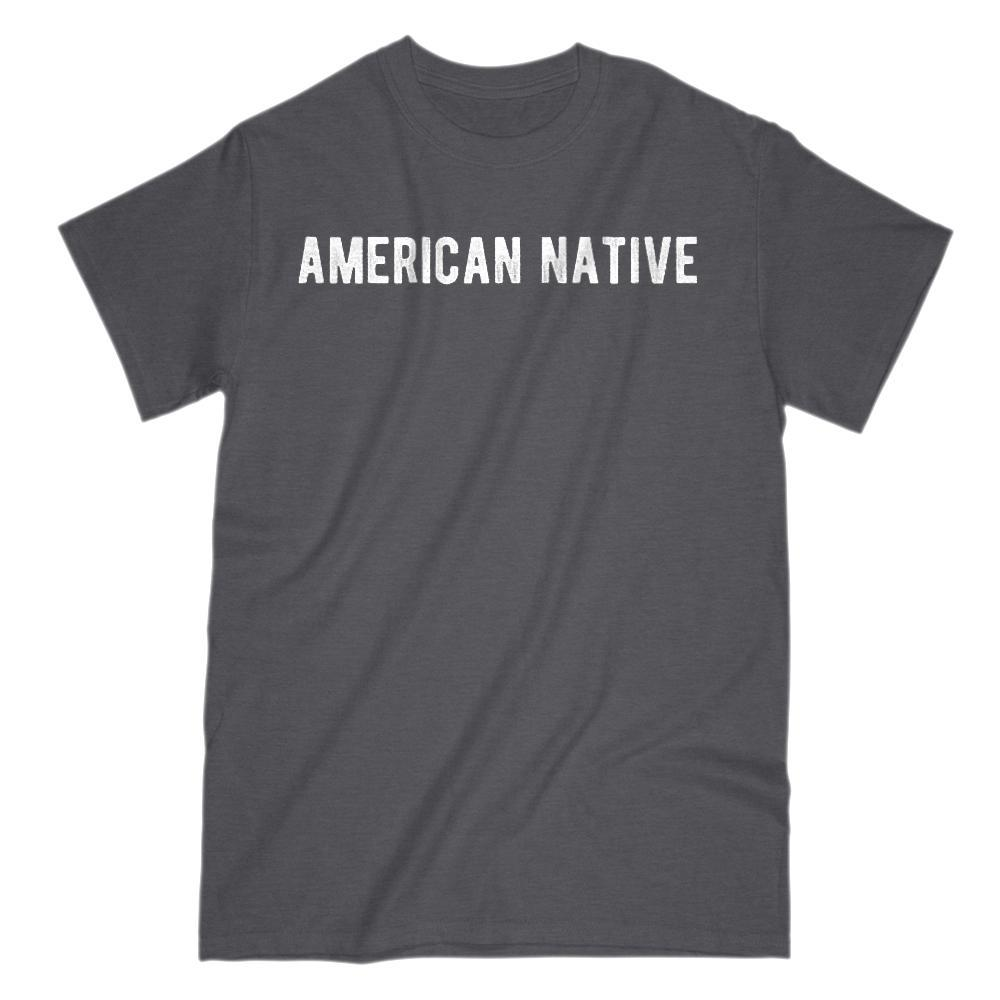 American Native Patriotic Graphic T-shirt Graphic T-Shirt Tee BOXELS