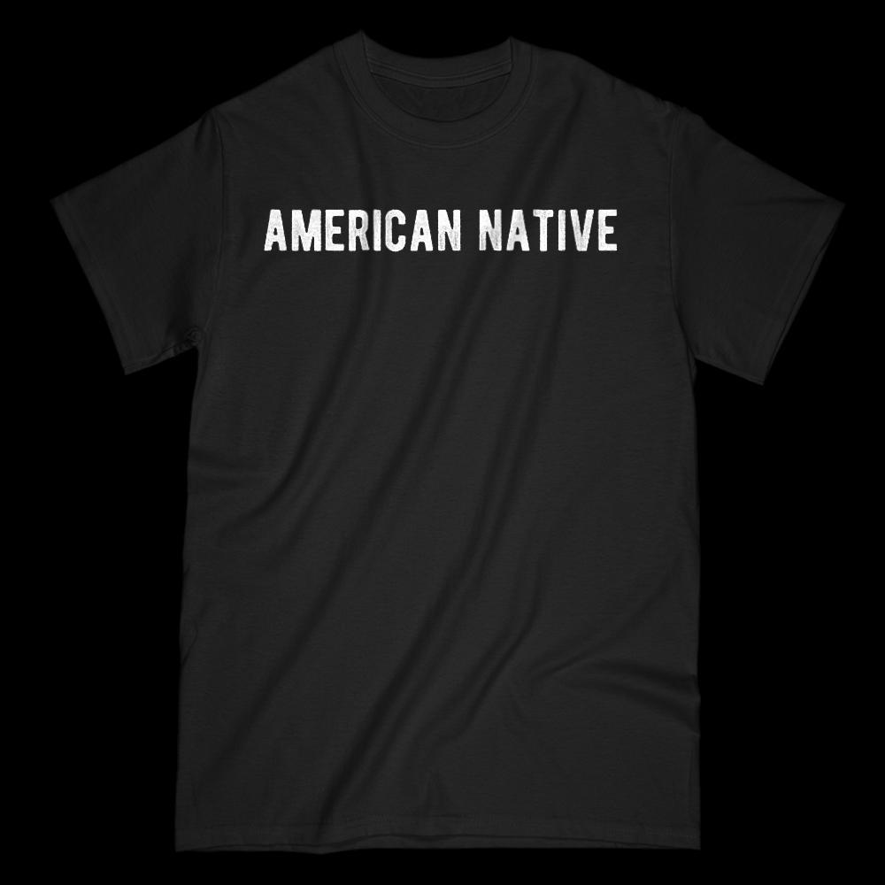 American Native Patriotic Graphic T-shirt