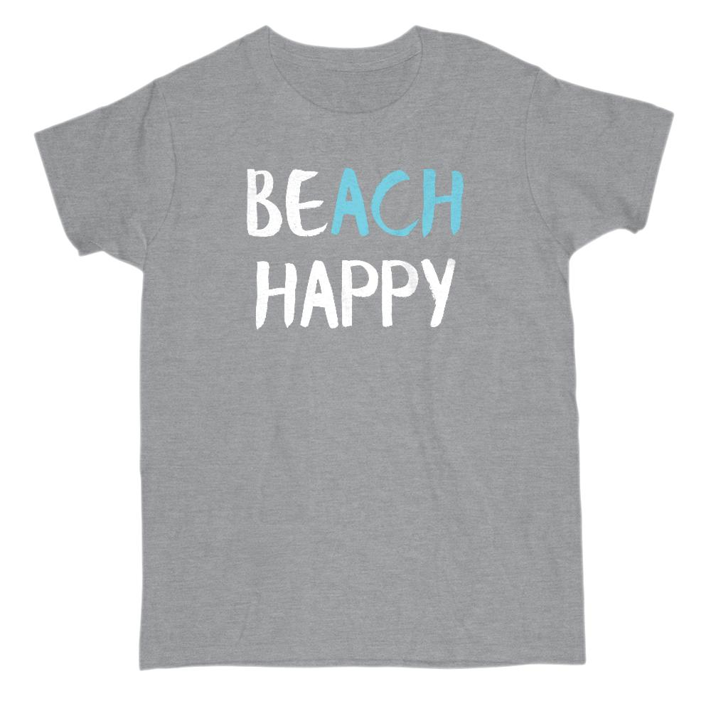 BEACH HAPPY Graphic T-Shirt Tee BOXELS