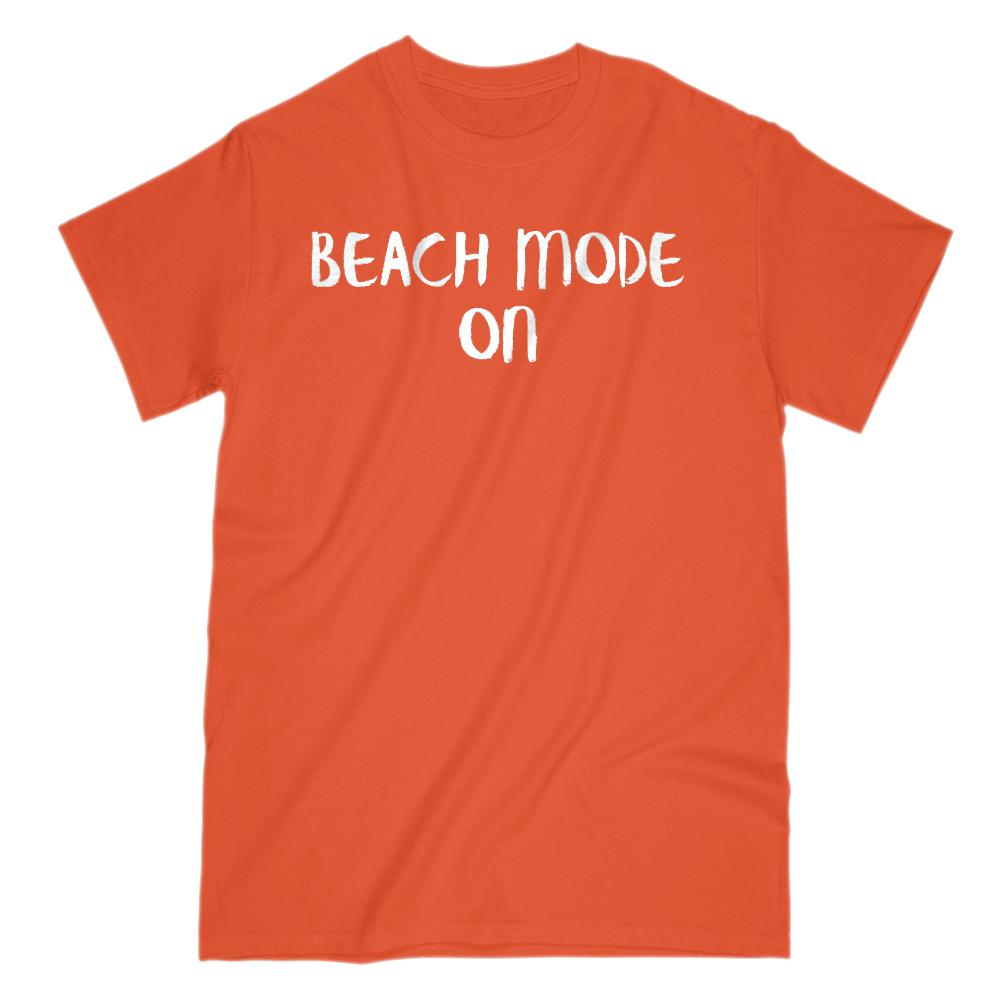 Beach Mode On Vacation (men) T-shirt Graphic T-Shirt Tee BOXELS