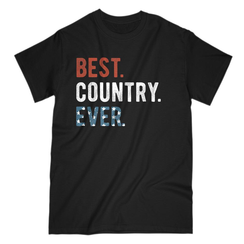 Best. Country. Ever. Patriotic Ameriacn Flag T-shirt