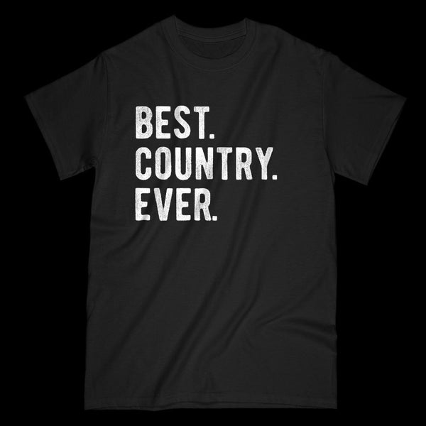Best. Country. Ever. Patriotic T-shirt Graphic T-Shirt Tee BOXELS