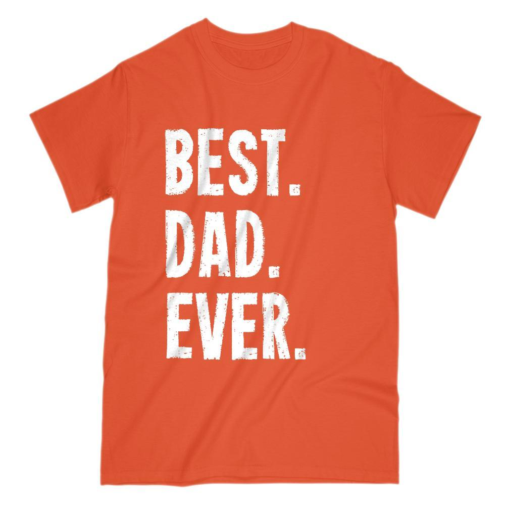 Best Dad Ever Grunge Graphic Father's Day Birthday Gift T-Shirt Graphic T-Shirt Tee BOXELS