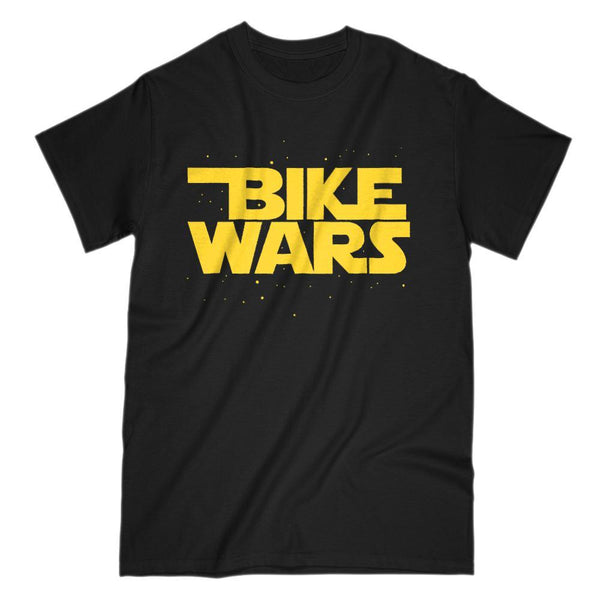 Bike Wars Space Star Parody Graphic Tee Graphic T-Shirt Tee BOXELS