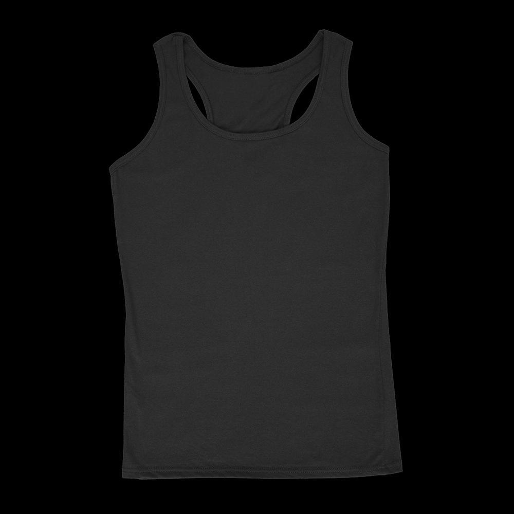 blank female women tank top color example only
