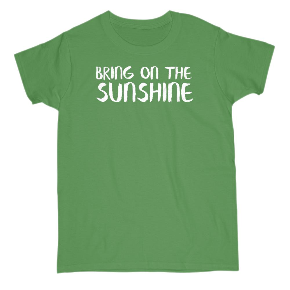 Bring On The Sunshine Graphic T-Shirt Tee BOXELS