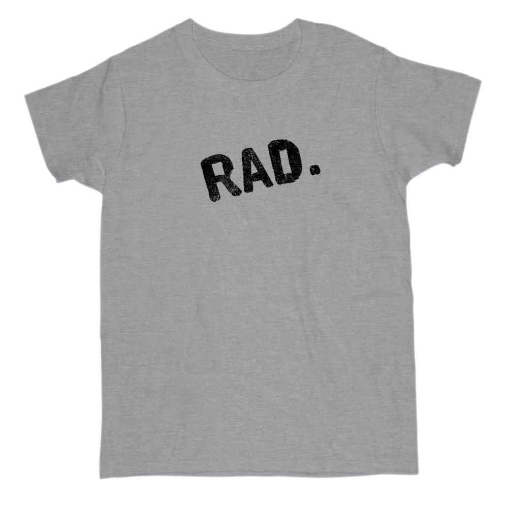 Crooked Slanted RAD. Graphic T-Shirt Graphic T-Shirt Tee BOXELS
