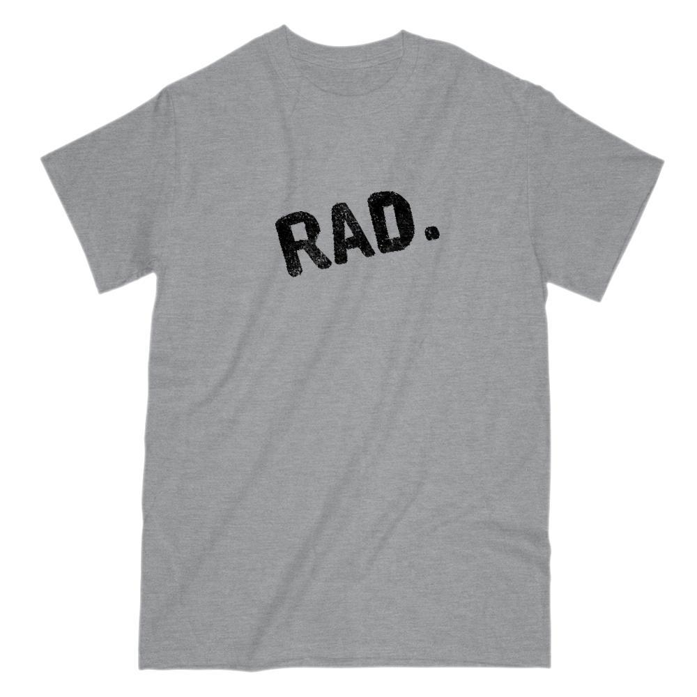 Crooked Slanted RAD. Graphic T-Shirt