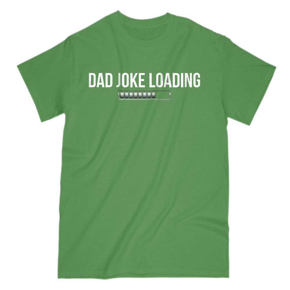 Dad Joke Loading Bar Funny Graphic T-Shirt Graphic T-Shirt Tee BOXELS