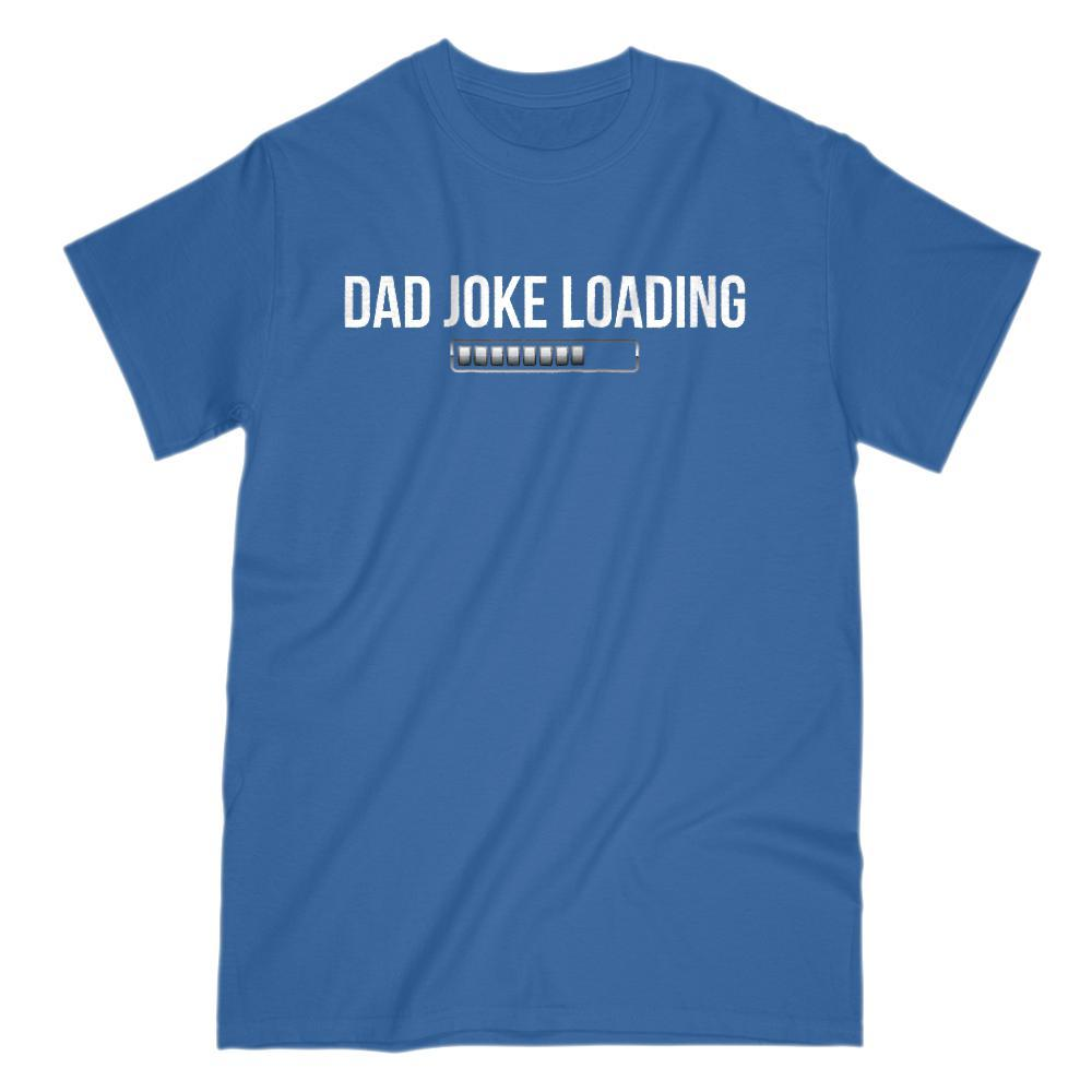 Dad Joke Loading Bar Graphic T-Shirt Tee BOXELS
