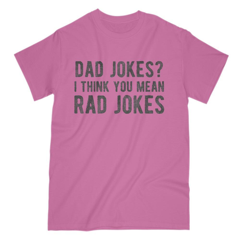 Dad Jokes? I Think You Mean Rad Jokes Funny Graphic Tee Graphic T-Shirt Tee BOXELS