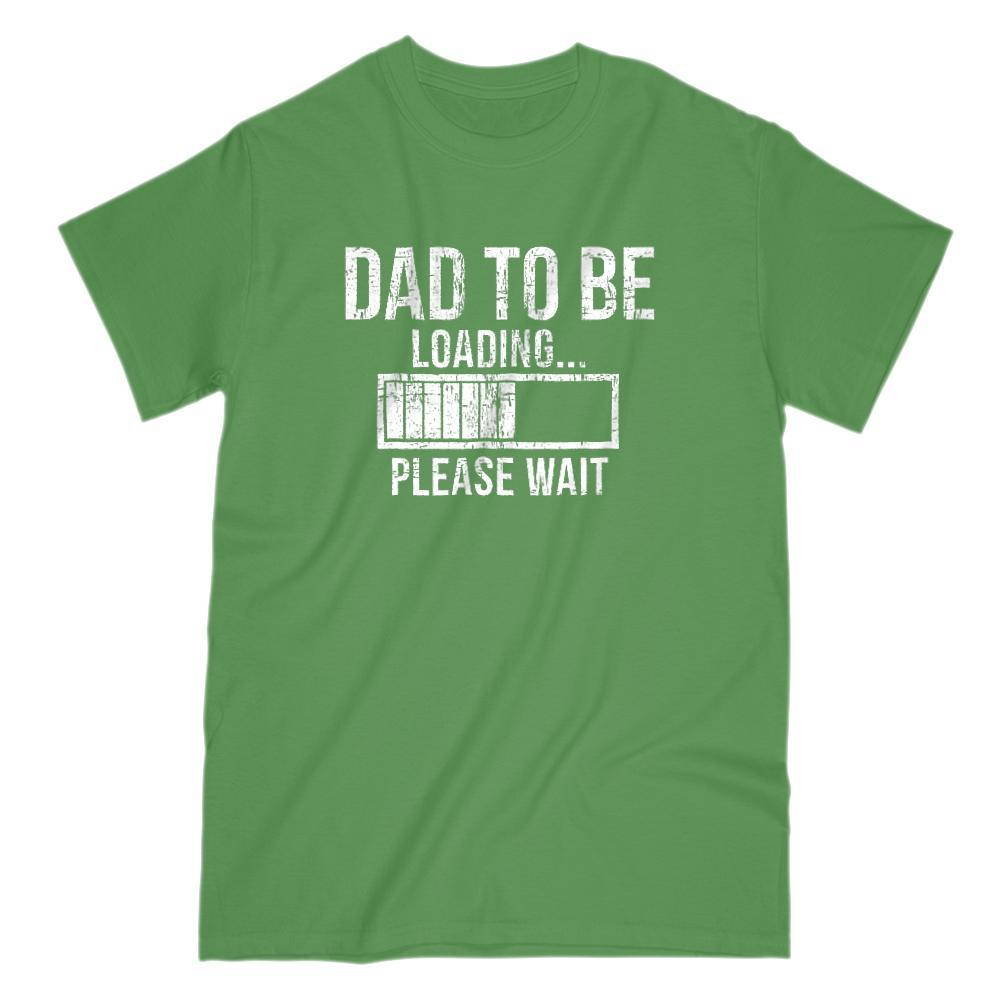 Dad To Be Loading... Please Wait Grunge Graphic T-Shirt Graphic T-Shirt Tee BOXELS