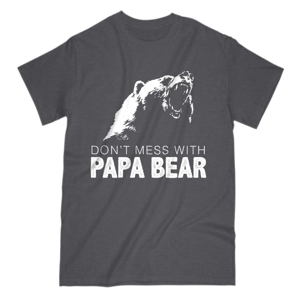 Don't Mess With Papa Bear Graphic T-Shirt
