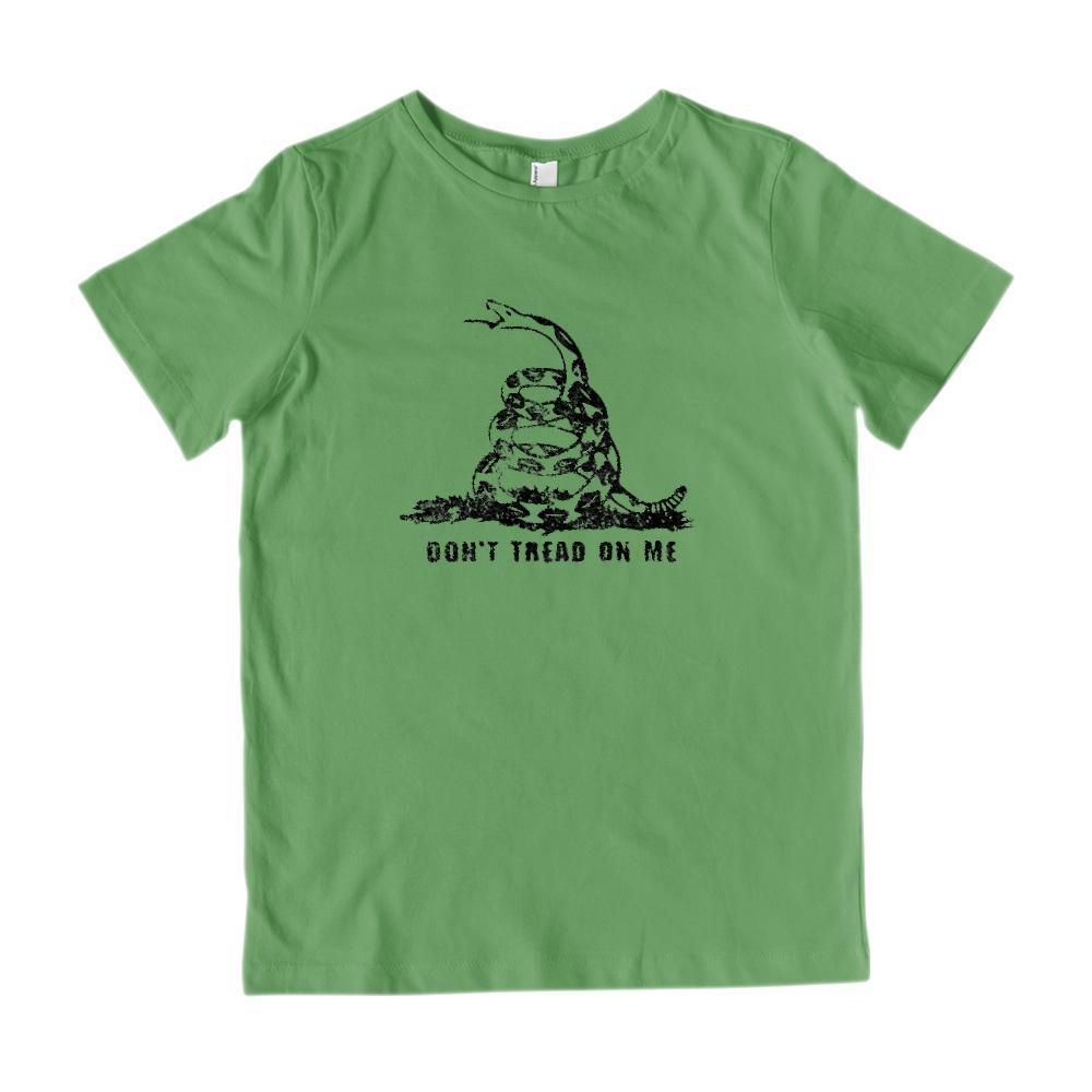 Don't Tread on Me Snake Serpent America Patriotic Graphic T-Shirt Graphic T-Shirt Tee BOXELS