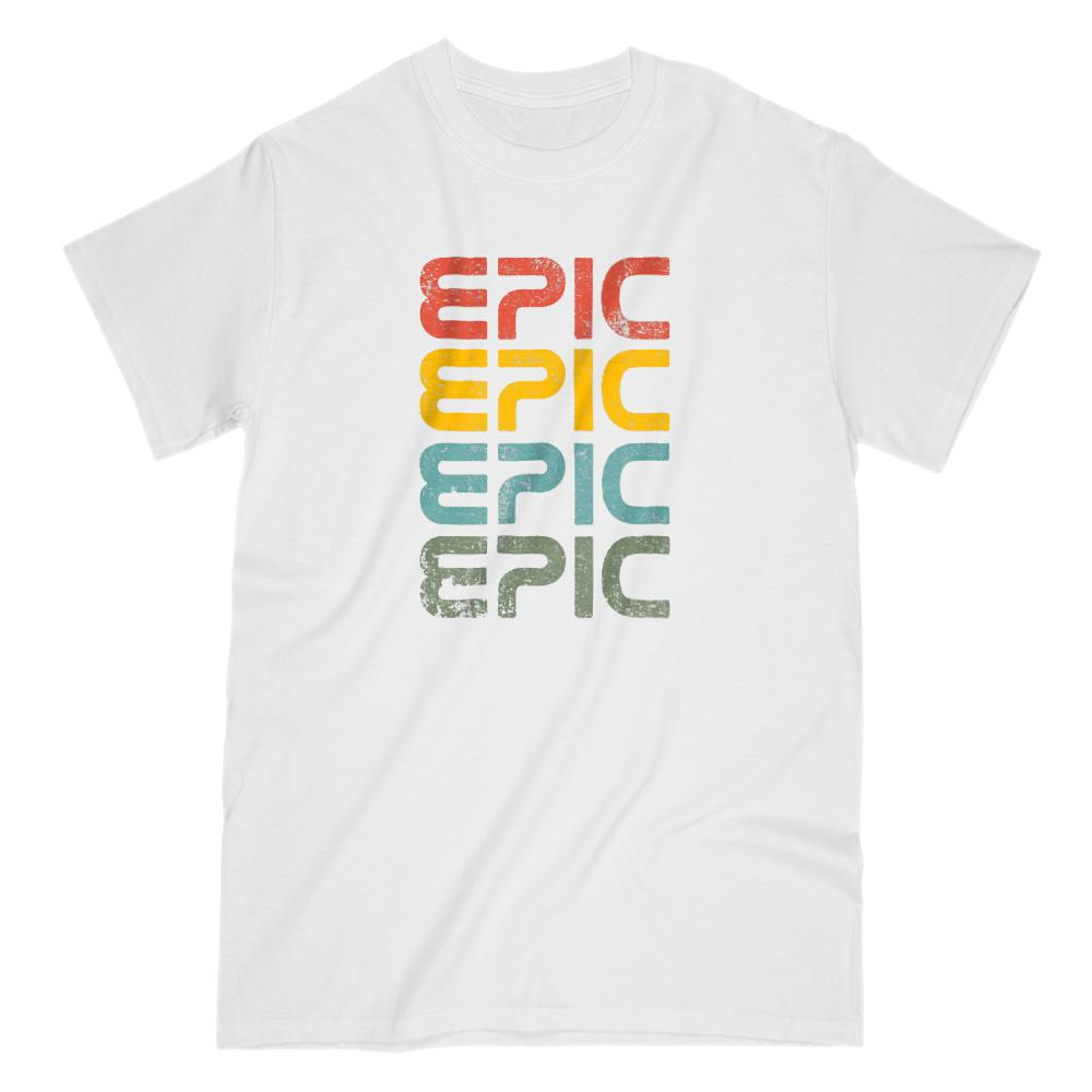 EPIC retro Graphic T-Shirt (Men & Women) Graphic T-Shirt Tee BOXELS