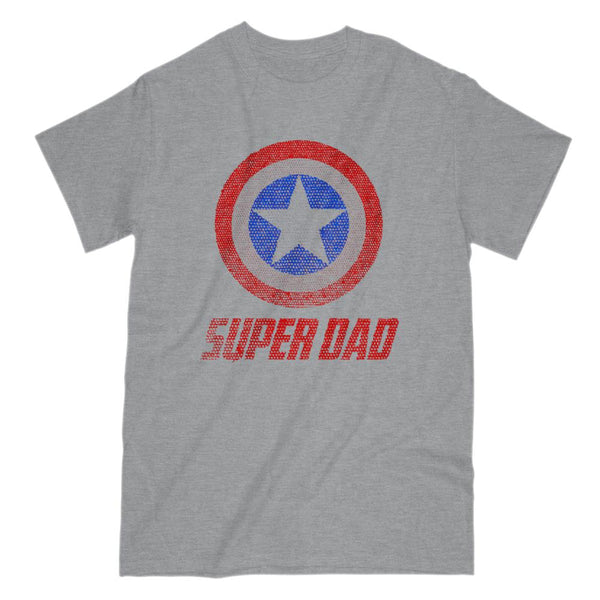 etsy order 1327123901 Super Dad Graphic T-Shirt Tee BOXELS