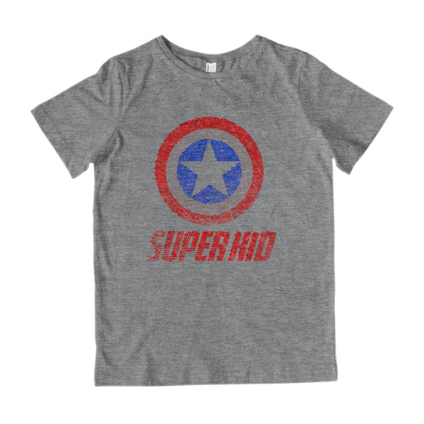 etsy order 1327123901 Super Kid Graphic T-Shirt Tee BOXELS