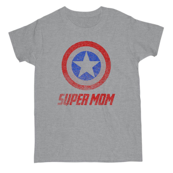 etsy order 1327123901 Super Mom Graphic T-Shirt Tee BOXELS