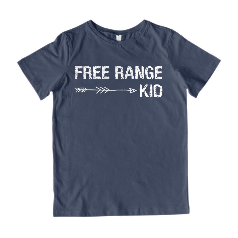 Free Range Kid Graphic Tee Graphic T-Shirt Tee BOXELS
