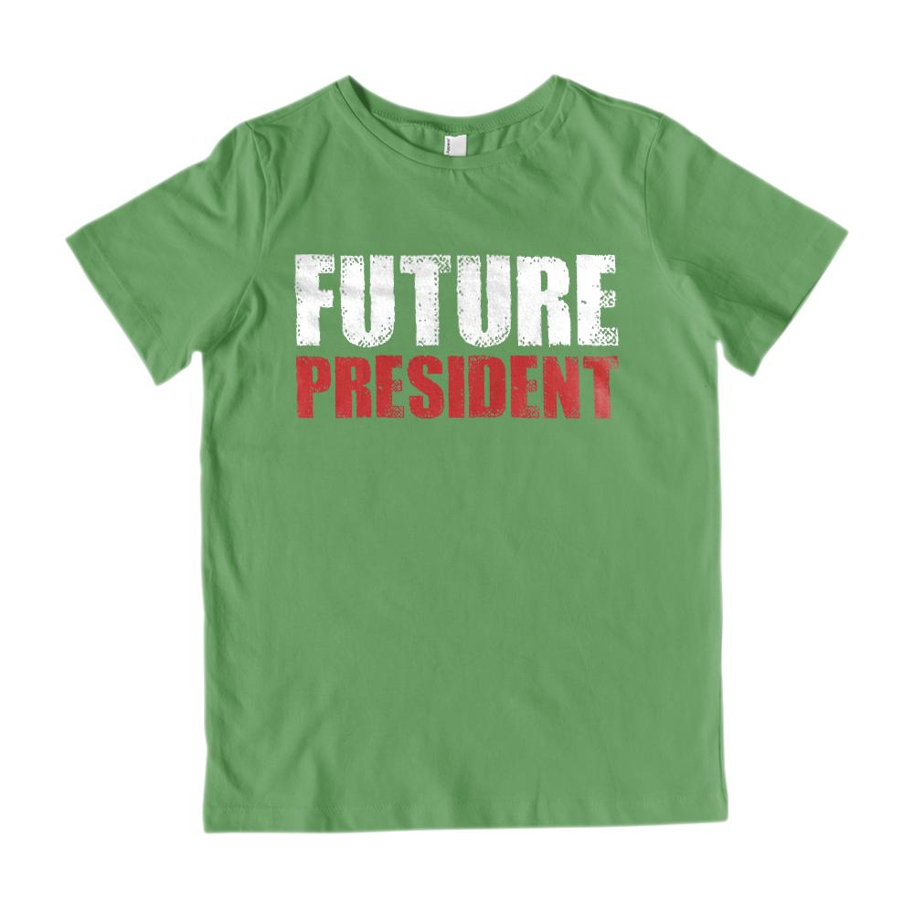 Future President (Kids) Graphic Tee Graphic T-Shirt Tee BOXELS