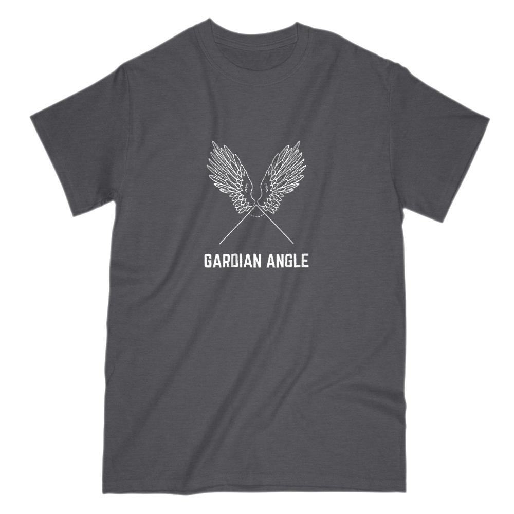 Gardian Angle Funny Math Graphic Angel Tee Graphic T-Shirt Tee BOXELS