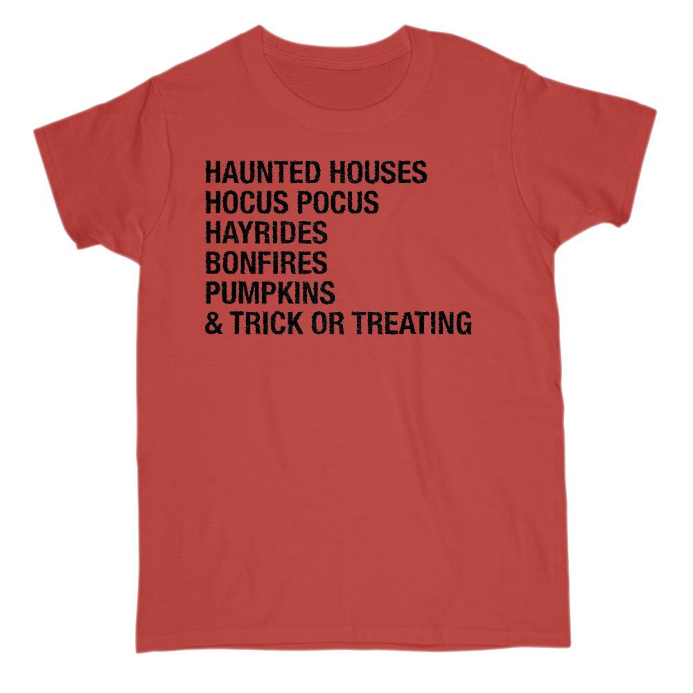 (Gildan Women's Cotton Tee) Halloween sayings Graphic T-Shirt Tee BOXELS