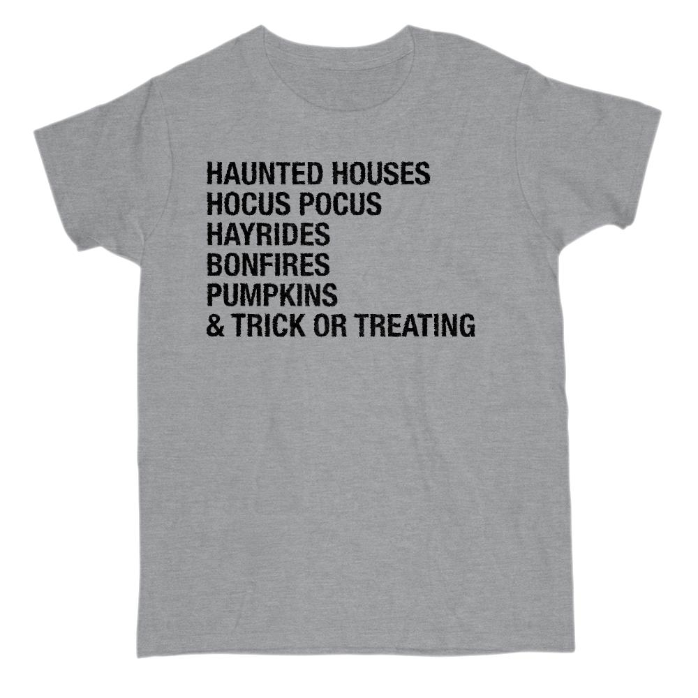 (Gildan Women's Cotton Tee) Halloween sayings