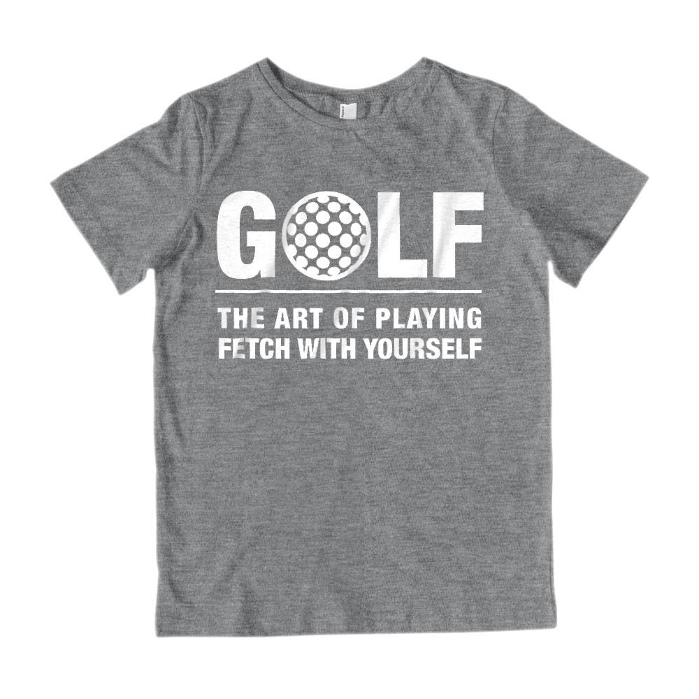Golf, The Art of Playing Fetch With Yourself Graphic T-Shirt Graphic T-Shirt Tee BOXELS
