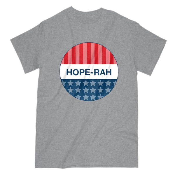 HOPE-RAH Political Party Pin T-Shirt Graphic T-Shirt Tee BOXELS