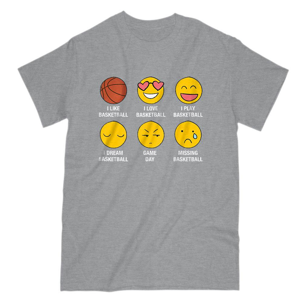 6f7a362ad I Love I Like Basketball Emoji Emoticon Funny Sayings Boxels