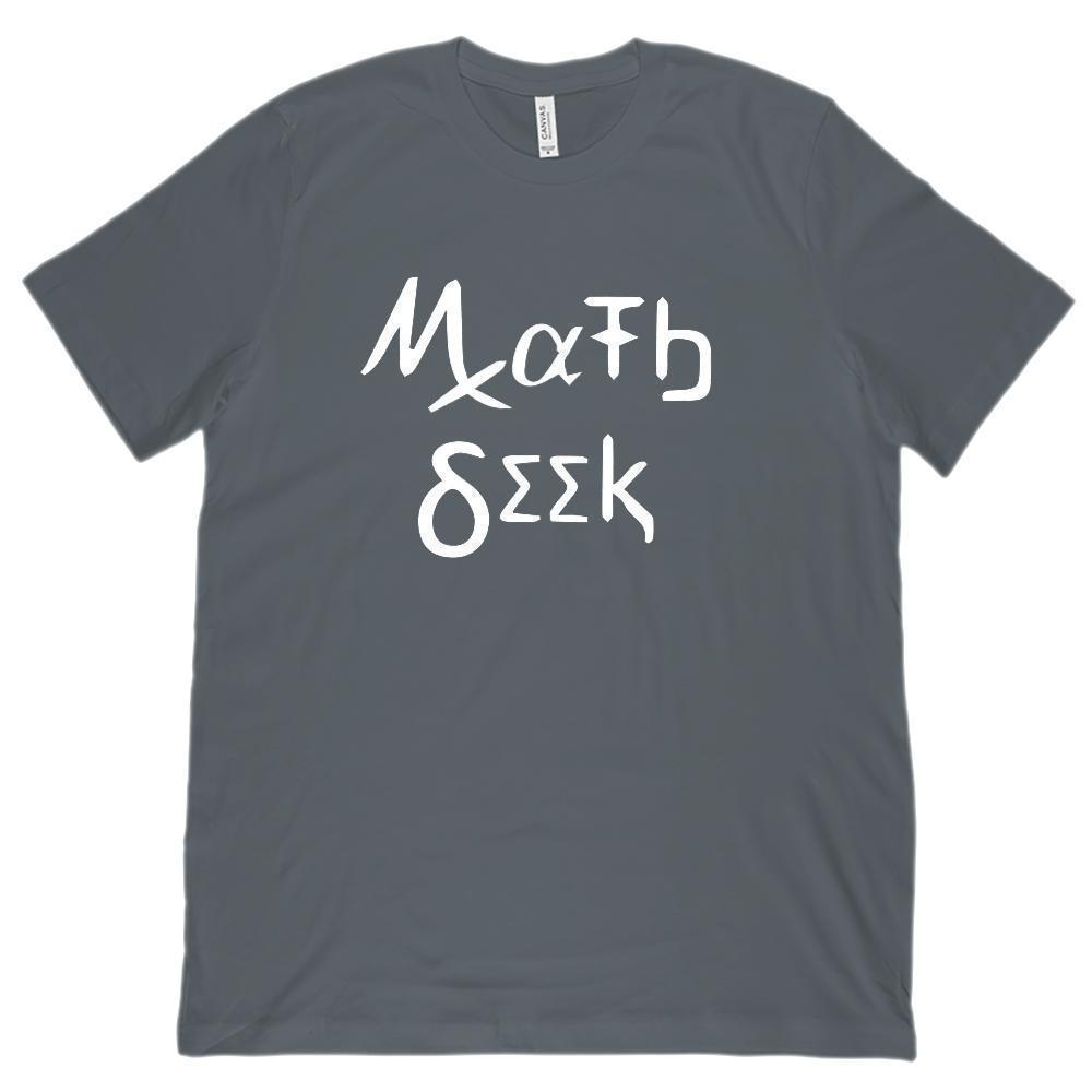 Just Do Math Mathematics Geek Nerd (Unisex BC 3001 Soft Tee) Graphic T-Shirt Tee BOXELS