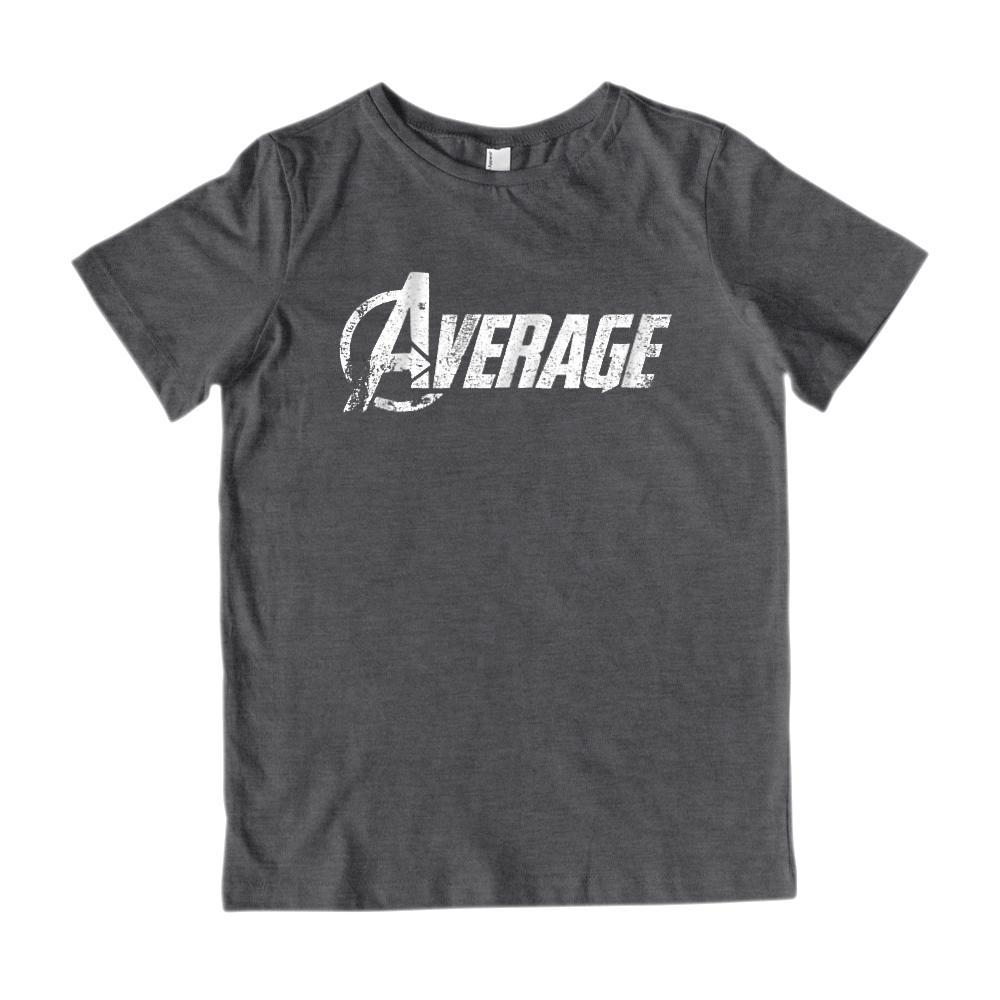 (Kid's Gildan Cotton Tee) Average Avengers Parody Grungy Graphic T-Shirt Tee BOXELS