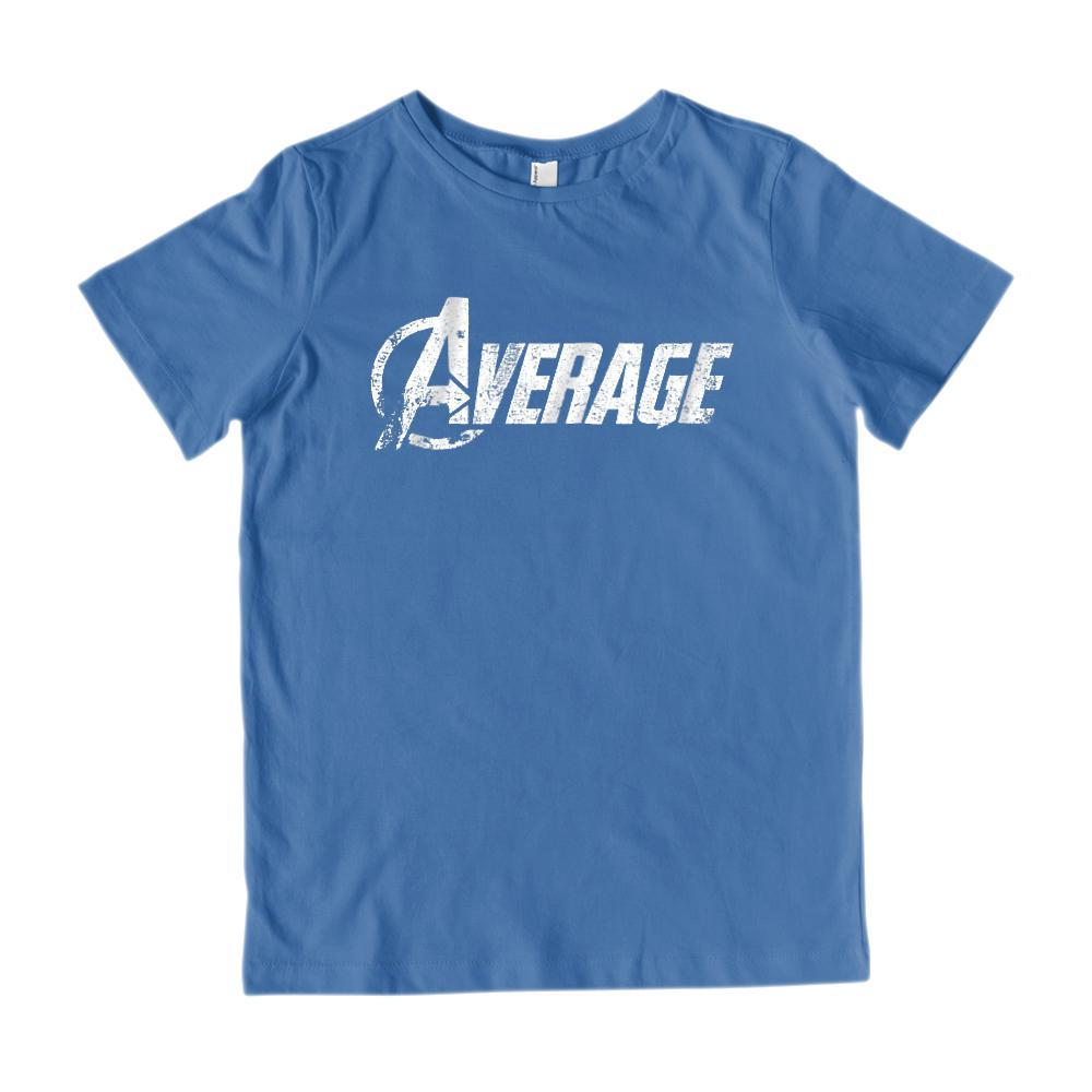 (Kid's Gildan Cotton Tee) Average Avengers Parody Grungy