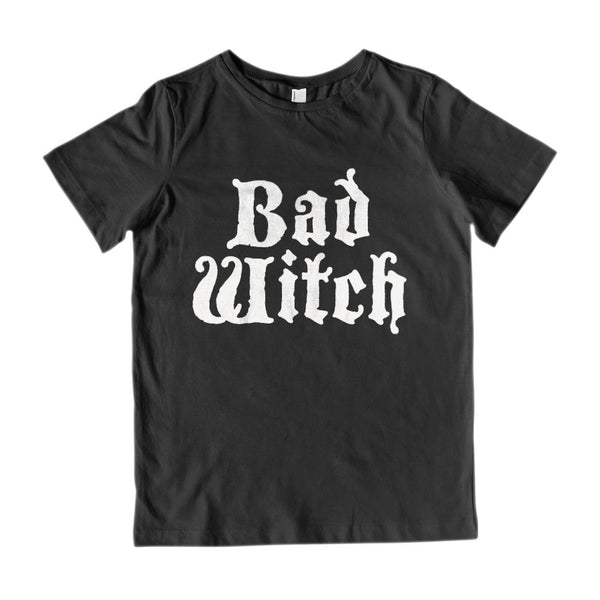 (Kid's Gildan Cotton Tee) Good Witch, Bad Witch (matching set) | Bad Witch Graphic T-Shirt Tee BOXELS